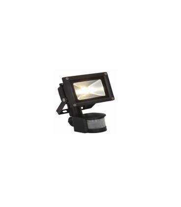 projecteur led bermude 20w 3000 k avec detecteur prolamp. Black Bedroom Furniture Sets. Home Design Ideas