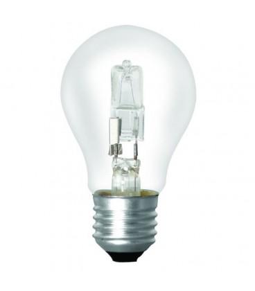 Ampoule PROLAMP Eco Halogène A55 E27 Clear Box 42W